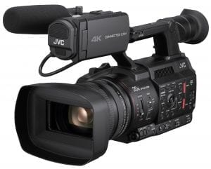 """JVC GY-HC500 Hand-Held Connected Cam 1"""" Camcorder Front"""