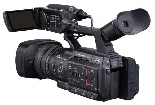 """JVC GY-HC500 Hand-Held Connected Cam 1"""" Camcorder Rear"""