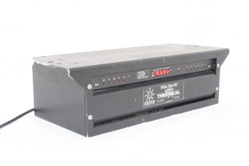City Theatrical PDS-750TR - Powersupply - Side 1