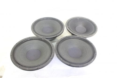 "EAW LC-1526 15"" Woofer Speaker - Lot of 4 (For Parts) Main"