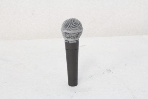 Shure SM58 Wired Microphone - Side 1