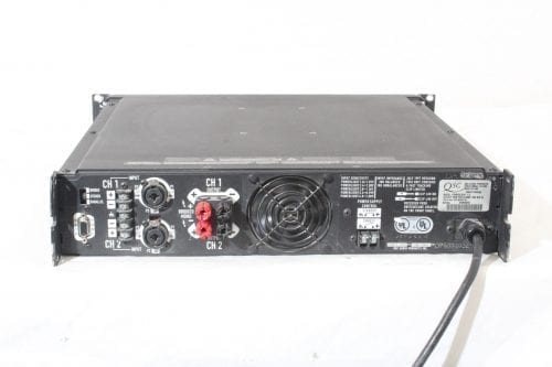 QSC Powerlight 1.4 140Watt Professional Amplifier - Back