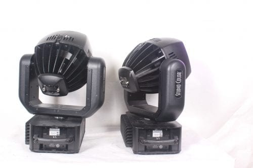High End Systems Studio - Spot 575H Series Lights(Pair) Back