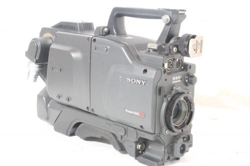 Sony DXC-D55WS Widescreen Camera - Side 2