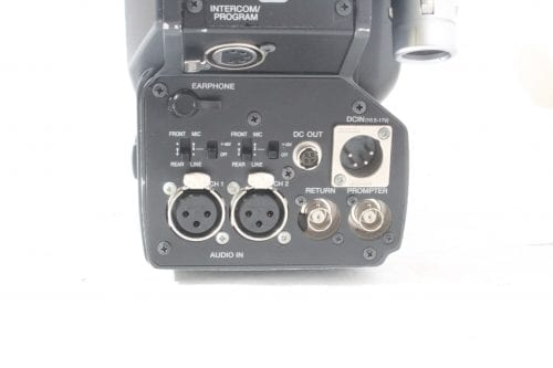 Sony DXC-D55WS Widescreen Camera - Back 3