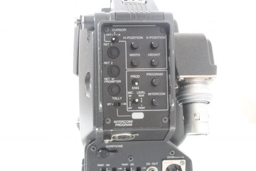 Sony DXC-D55WS Widescreen Camera - Back 2