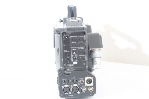 Sony DXC-D55WS Widescreen Camera - Back