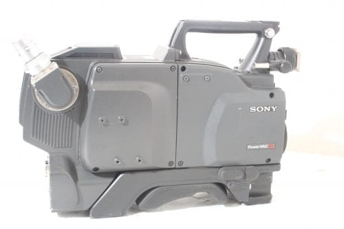 Sony DXC-D55WS Widescreen Camera - Side 1