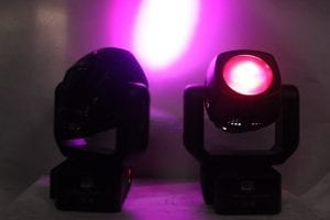High End Systems Studio - Spot 575H Series Lights(Pair) On
