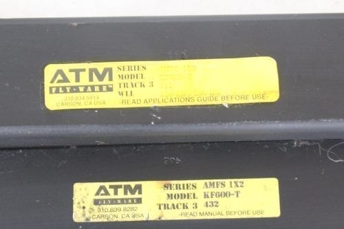 ATM AMFS KF600-T - Lot of 2 - Label