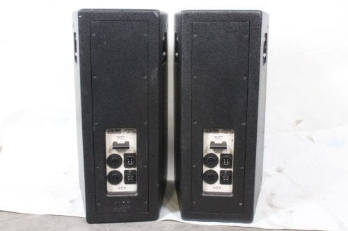 EAW KF300e 3-Way Speakers (Pair) w/ Road Case Back