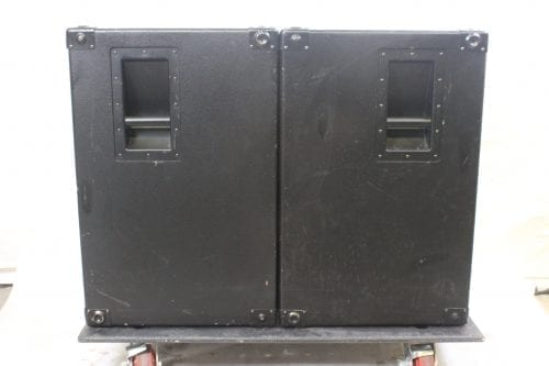 EAW SB-250 Subwoofer System w/ ATA Road Case(Pair) Side2