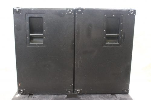 EAW SB-250 Subwoofer System w/ ATA Road Case(Pair) Side1