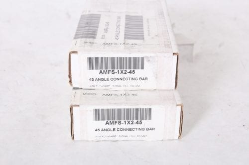 AMFS 1X2- 45 - 45 Angle connecting Bar - Pair - Box 1