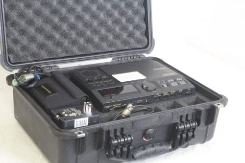 Marantz Professional CDR-420 - Portable Hard Disk Recorder and CD/MP3 Burner w/ Pelican Case - Custom Case