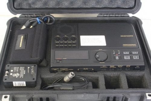 Marantz Professional CDR-420 - Portable Hard Disk Recorder and CD/MP3 Burner w/ Pelican Case - Case 3