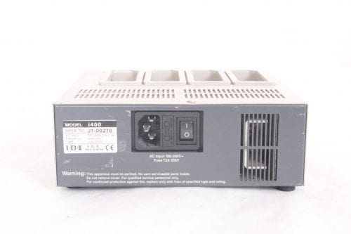IDX- i400 4 Channel Battery Charger/Discharger - Back