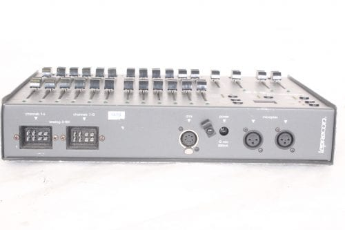 Leprecon LP612 MPX-D/A Lighting Controller - Back