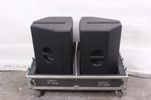 EAW JFX290i Compact Full Range 2-Way Loudspeaker (Pair) In Case