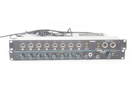 Shure RKC800 Rack Mountable XLR Expansion Kit for SCM800 and 810 Mixers - Main