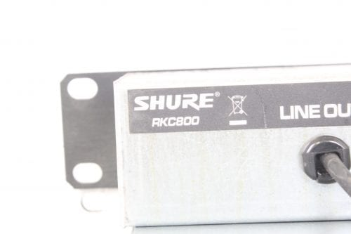 Shure RKC800 Rack Mountable XLR Expansion Kit for SCM800 and 810 Mixers - Label