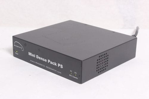 MAGENTA MINI DENSE PACK POWER SUPPLY - RACK MOUNT POWER SUPPLY FOR 12 DEVICES -SIDE1