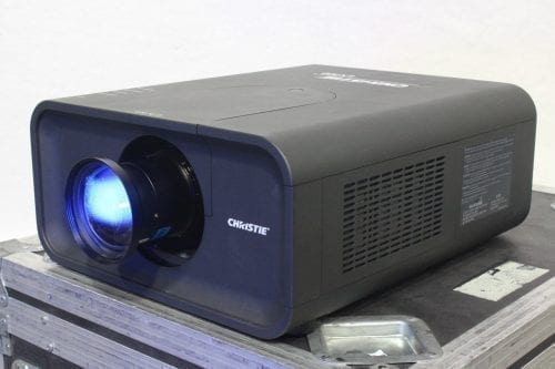 Christie LX700 LCD XGA Digital Projector w/ Road Case + Lens 1807 Lamp Hrs Main