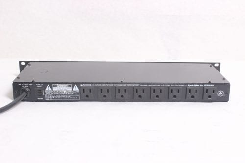 FURMAN RACKRIDER - 15 AMP POWER CONDITIONER - RR15 - BACK