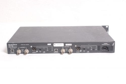 ELECTRO VOICE CDR-1000 DUAL RE-1 RECEIVER - BACK