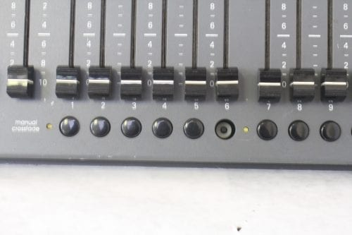 Leprecon LP-612 Microplex - DMX Console - Missing Buttons