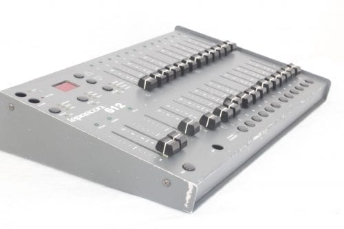 Leprecon LP-612 Microplex - DMX Console - Side 2
