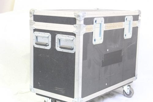 Chroma Q Colorblock DB4 - Lot of 9 + 2 PSU w/ Wheeled Case (Parts Only) - Case 3