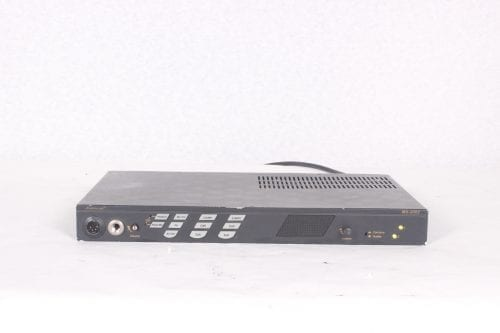 TELEX MS2002 - MASTER STATION AND POWER SUPPLY - FRONT