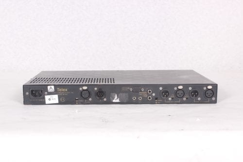 TELEX MS2002 - MASTER STATION AND POWER SUPPLY - BACK