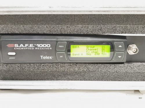 Telex S.A.F.E. 1000 - UHF Handheld Microphone System w/ ND/767 Mic (Band A) Front6