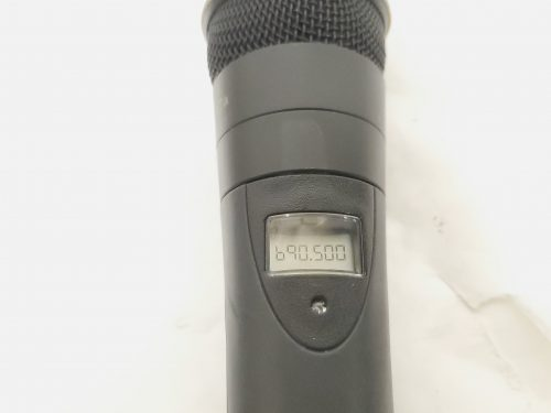 Telex S.A.F.E. 1000 - UHF Handheld Microphone System w/ ND/767 Mic (Band A) Front5