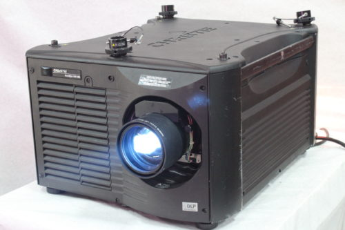 Christie Roadster HD18K 1080 HD 3-Chip DLP Projector (w/o Lens) - 294 Lamp Hrs Main