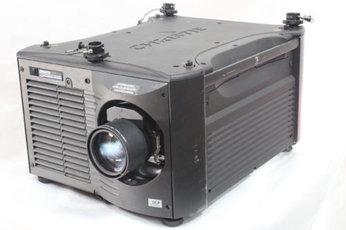 Christie Roadster HD18K 1080 HD 3-Chip DLP Projector For Parts (w/o Lens) - 483 Lamp Hrs Main