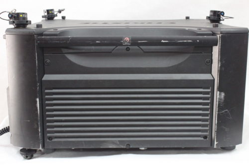 Christie Roadster HD18K 1080 HD 3-Chip DLP Projector For Parts (w/o Lens) - 483 Lamp Hrs Side1