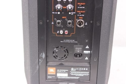 "JBL PRX710 1500-Watt Powered 10"" 2-Way Speaker‎ Label2"