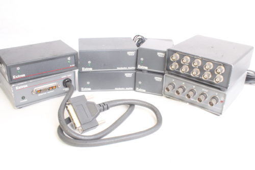 Extron Distrobution Amps + Ground Loop Isolator + Decoders - Main