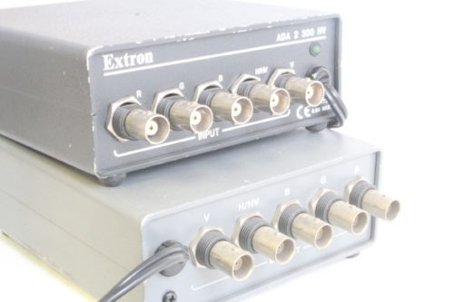 Extron Distrobution Amps + Ground Loop Isolator + Decoders - ADA 2 300 HV & GLI 250