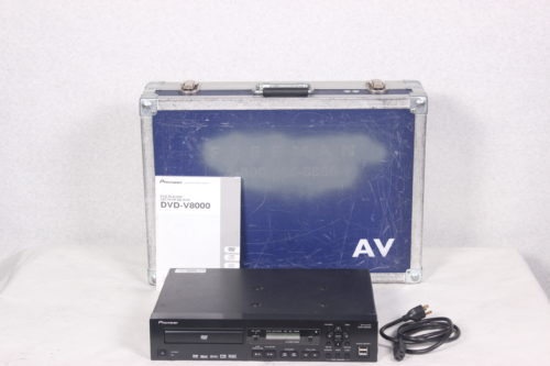 Pioneer DVD-V8000 Professional DVD Player A6