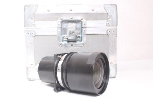 Sanyo LNS-S02 2.0 - 2.6 Projector Lens w/ Case - Side 1