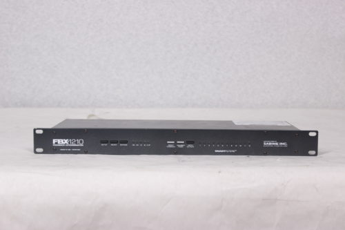 SABINE - 24-Bit Single Channel Feedback Exterminator - Rack- MAIN