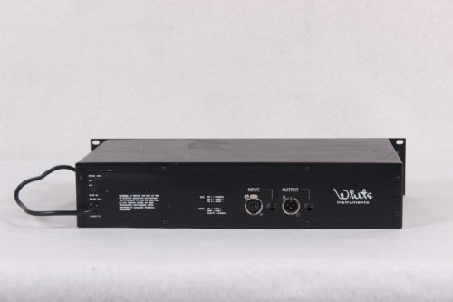 White Instruments Model 4828 One Third Octave Graphic Equalizer Side3