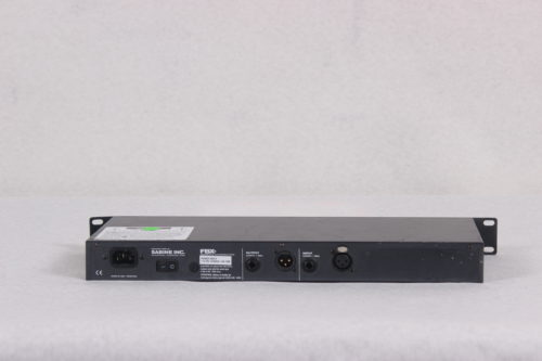 SABINE - 24-Bit Single Channel Feedback Exterminator - Rack -BACK