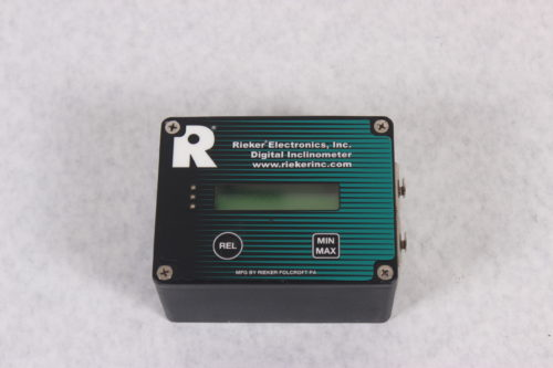 RIEKER - RDSR3-BA-09 - Rugged Remote Digital Boom Angle Inclinometer -TOP