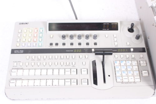 Sony DFS-700 Video Switcher & Control Panel with Case Controlpanel
