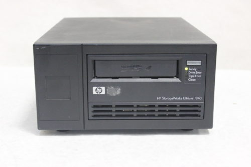 HP StorageWorks LTO-4 Ultrium 1840 SCSI EH854A External Tape Drive - FRONT